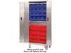 STAINLESS BI-FOLD DOOR CABINETS